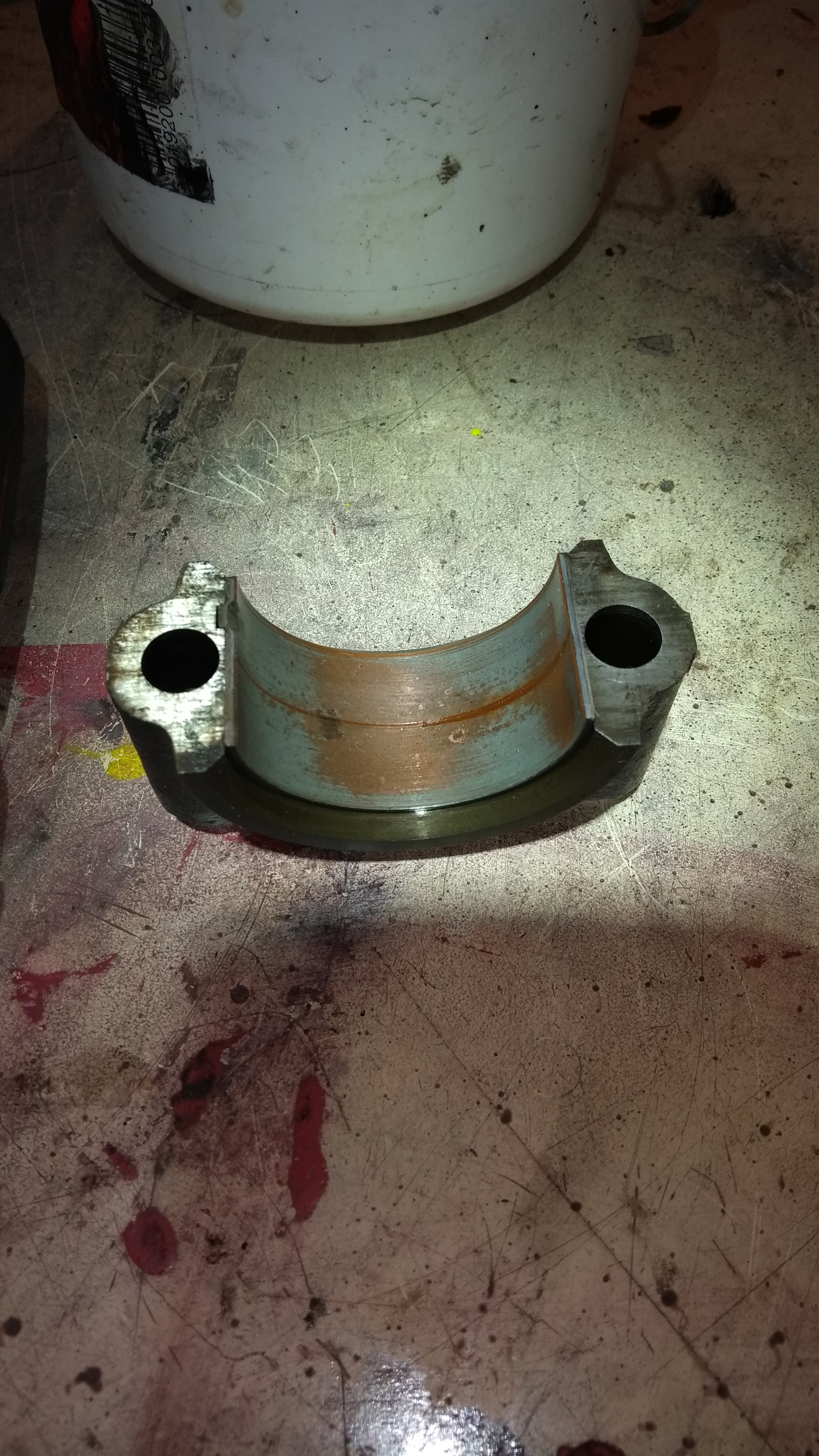 BD144  Main bearing change w/out Crank removal? - IH Engines