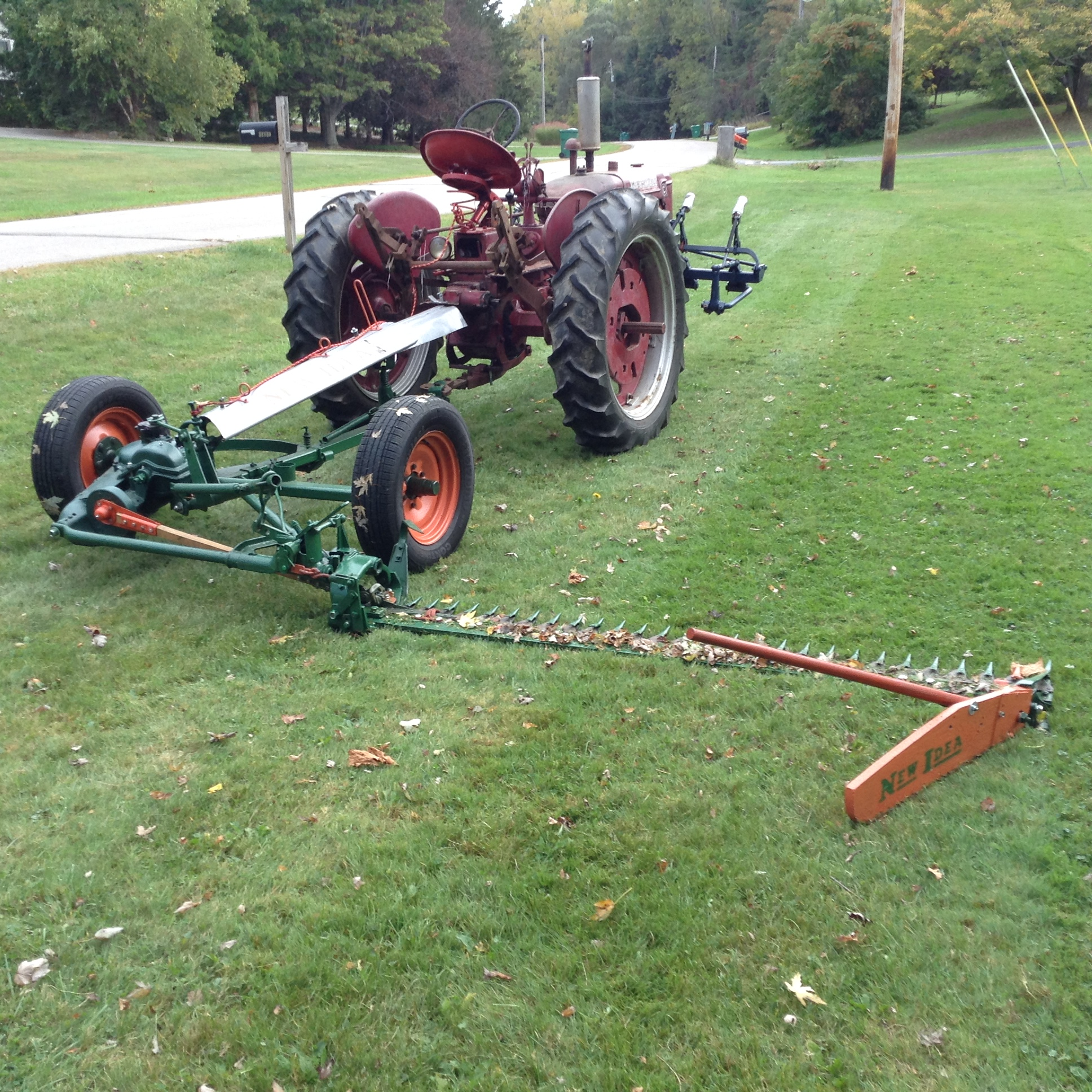 New Idea 30A Sickle Bar Mower - Projects, Builds