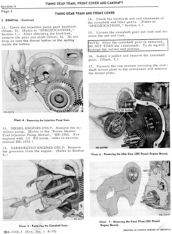 IH D282 Injection pump gears.jpg