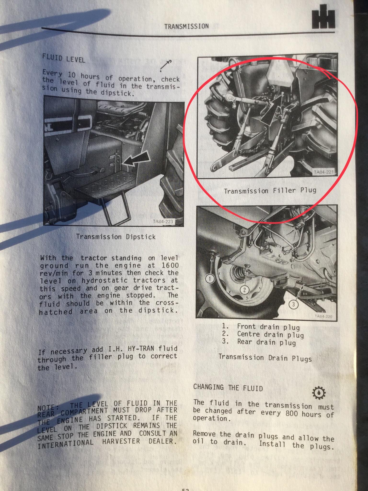 Inter 454 Drive Problem - General IH - Red Power Magazine