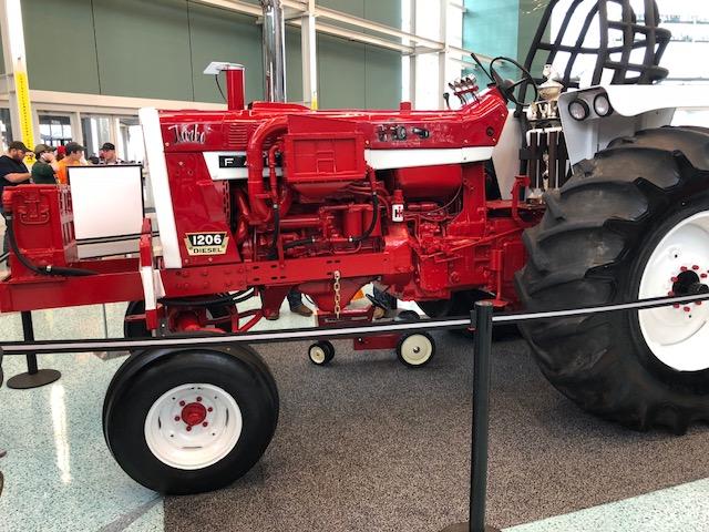 National Farm Machinery Show - Coffee Shop - Red Power