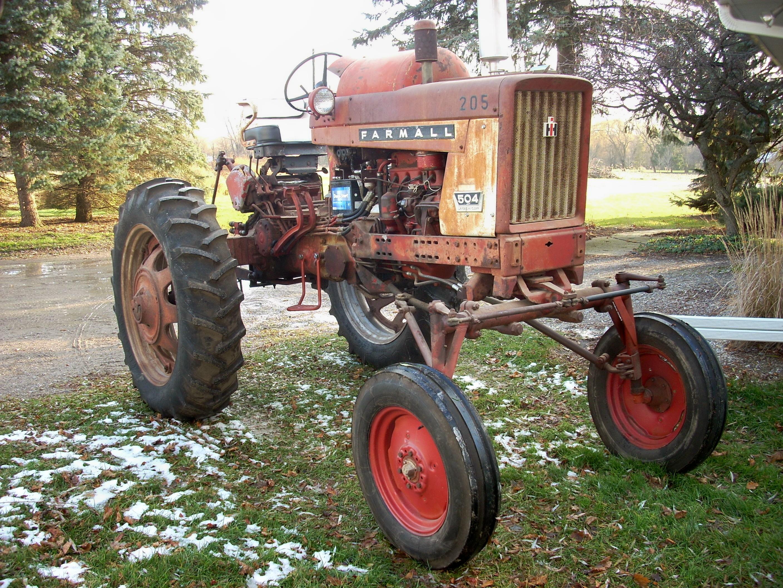 Farmall 504 Wiring Harnes