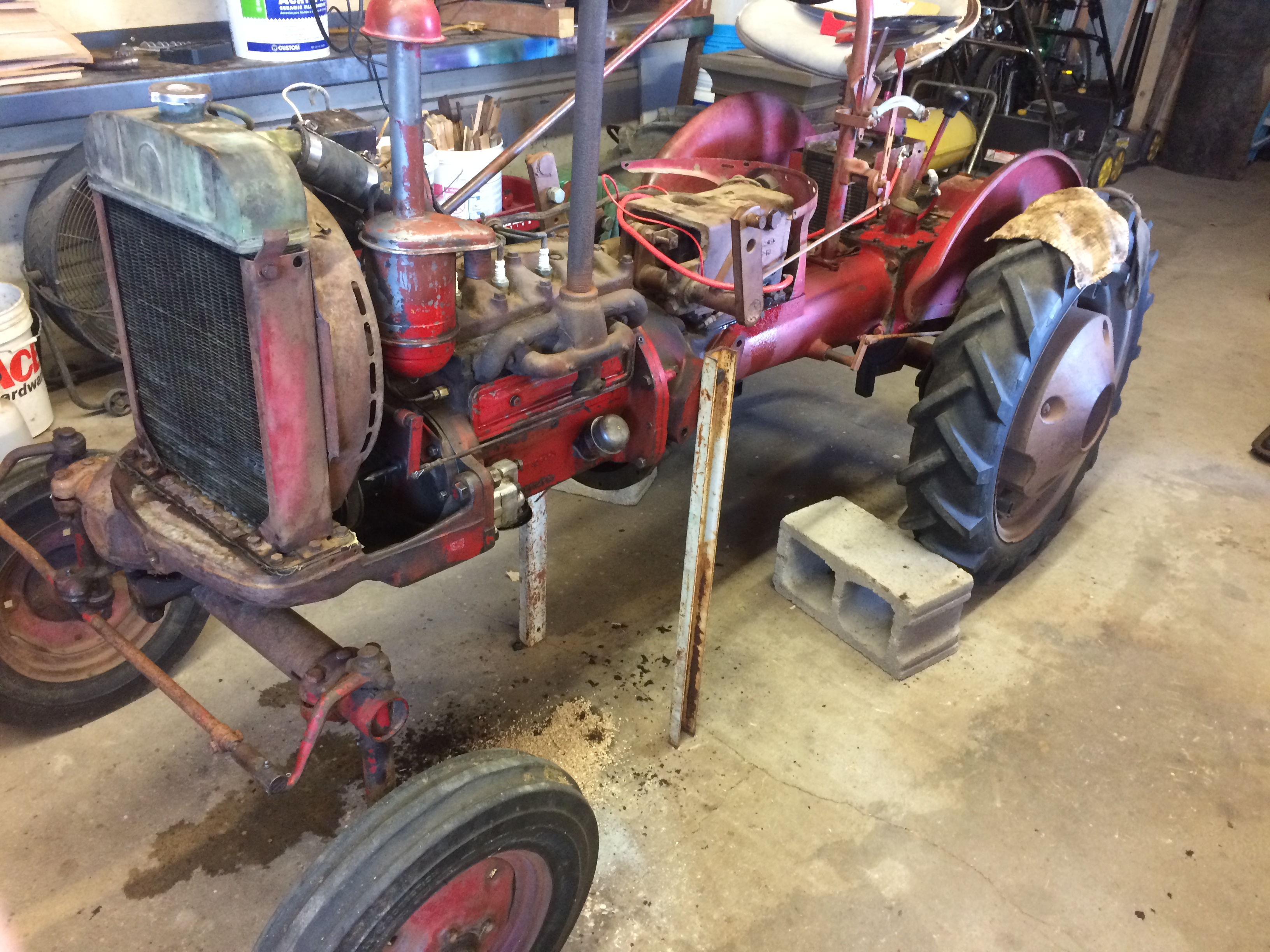 Update on Farmall Cub Project - Projects, Builds