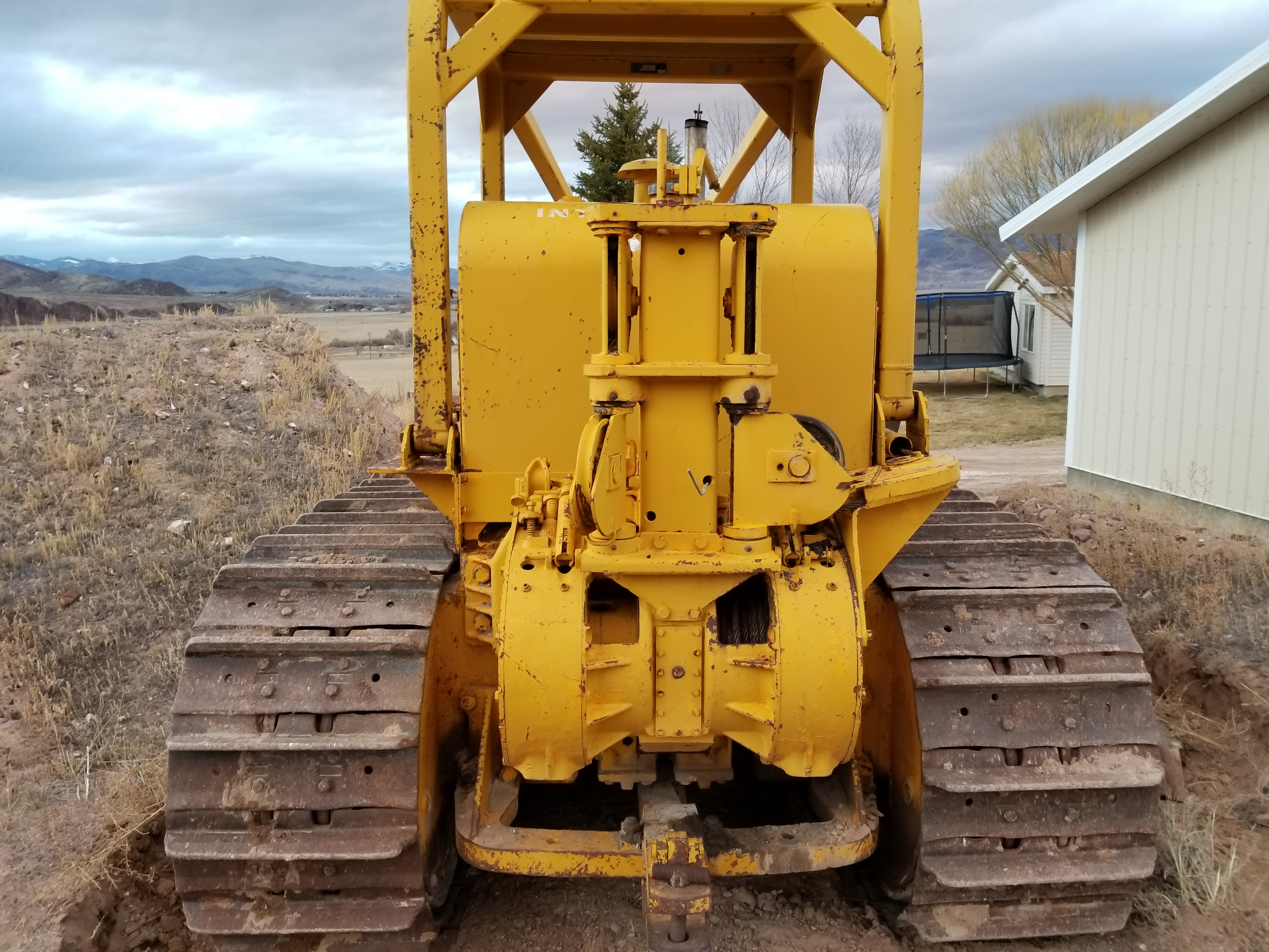 250 series TD25 cable dozer - IH Construction Equipment