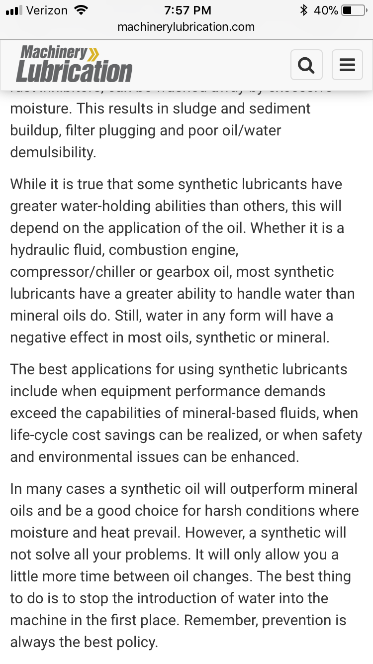 A different type of oil question - General IH - Red Power Magazine