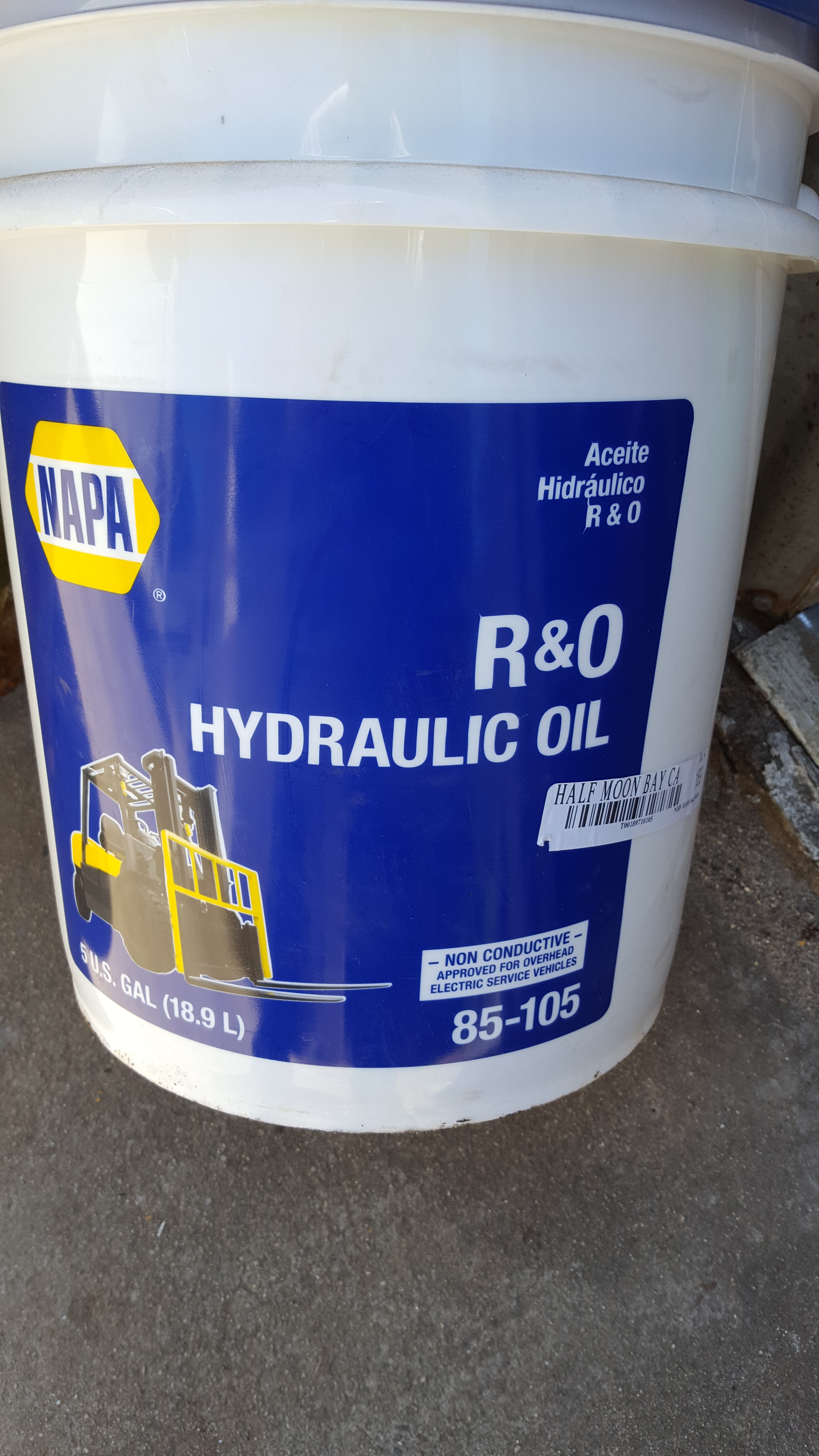 Need oil for both the hydraulic system and Transmission for