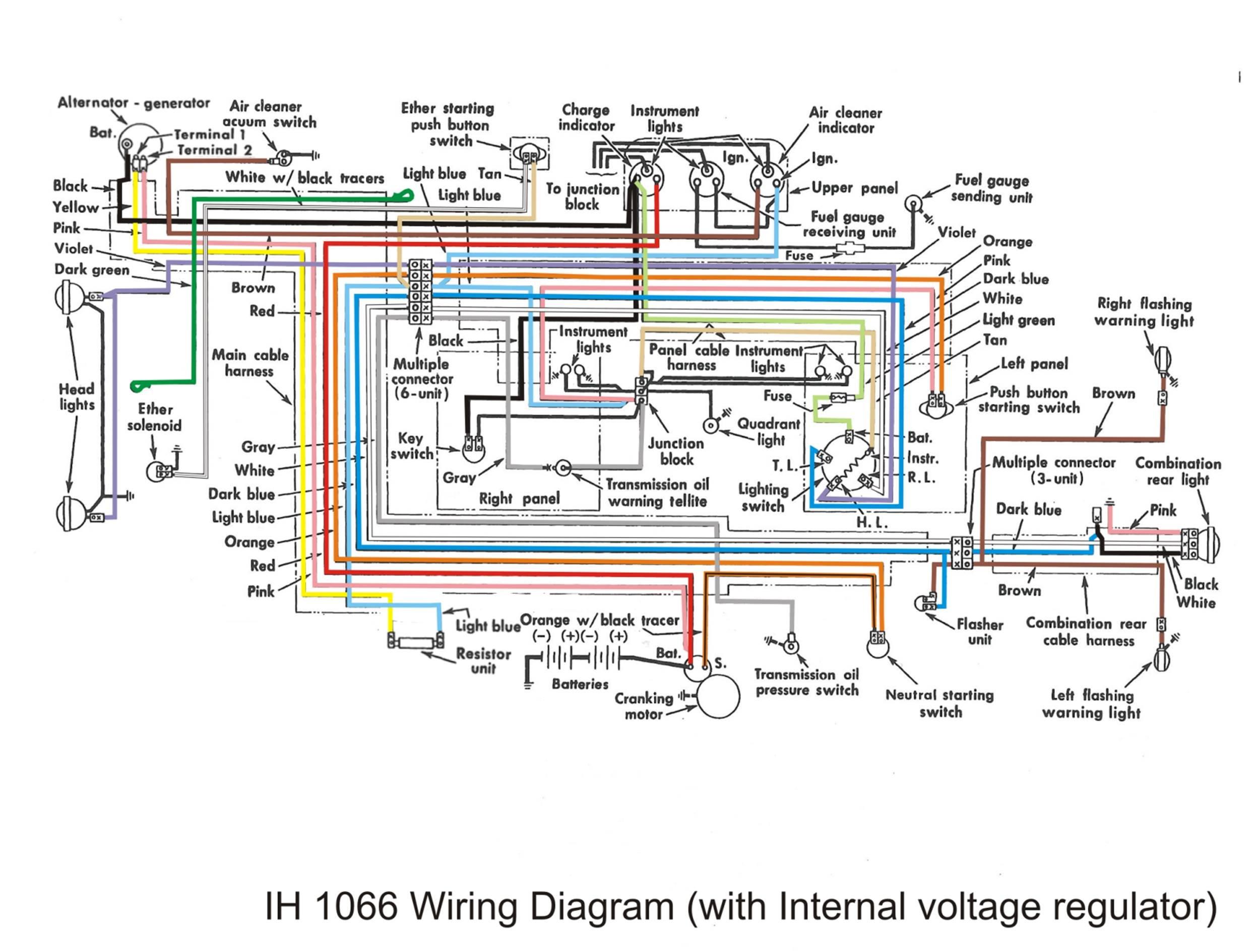 Dt 436 Cylinder Head Valves Ih Engines Red Power Magazine Community Multiple Generator Wiring Diagram 1066