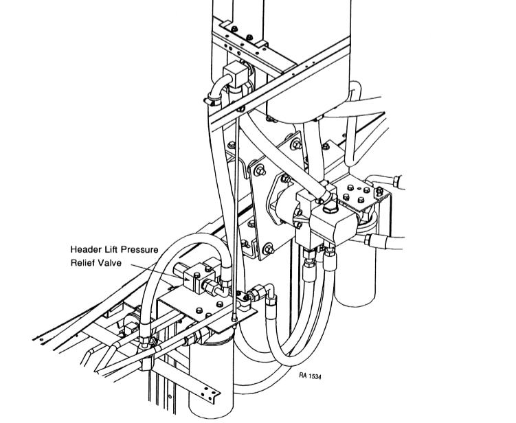 Farmall 560 Hydraulic Pressure Relief Valve Diagram
