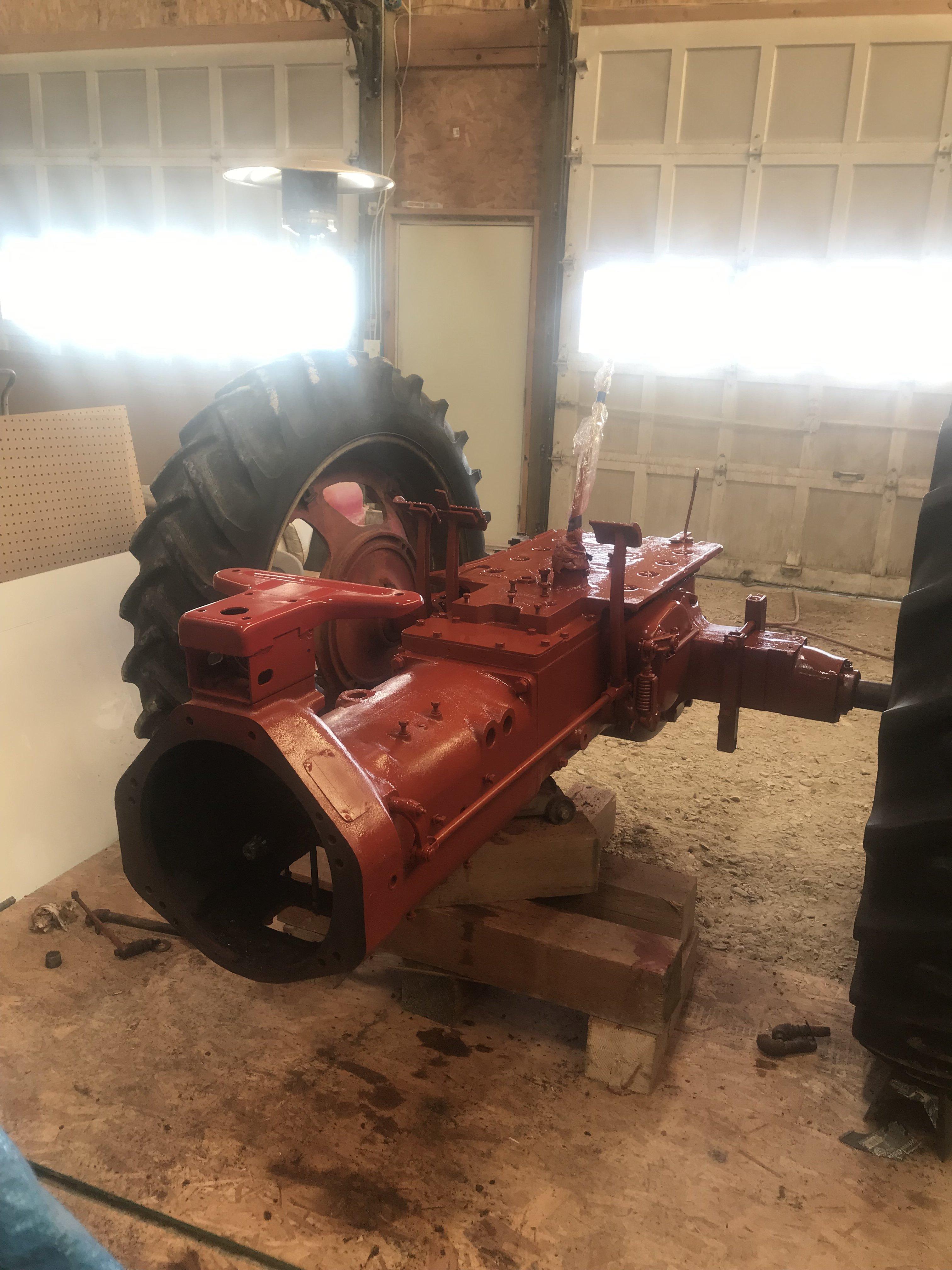 Farmall H hydraulics question - General IH - Red Power