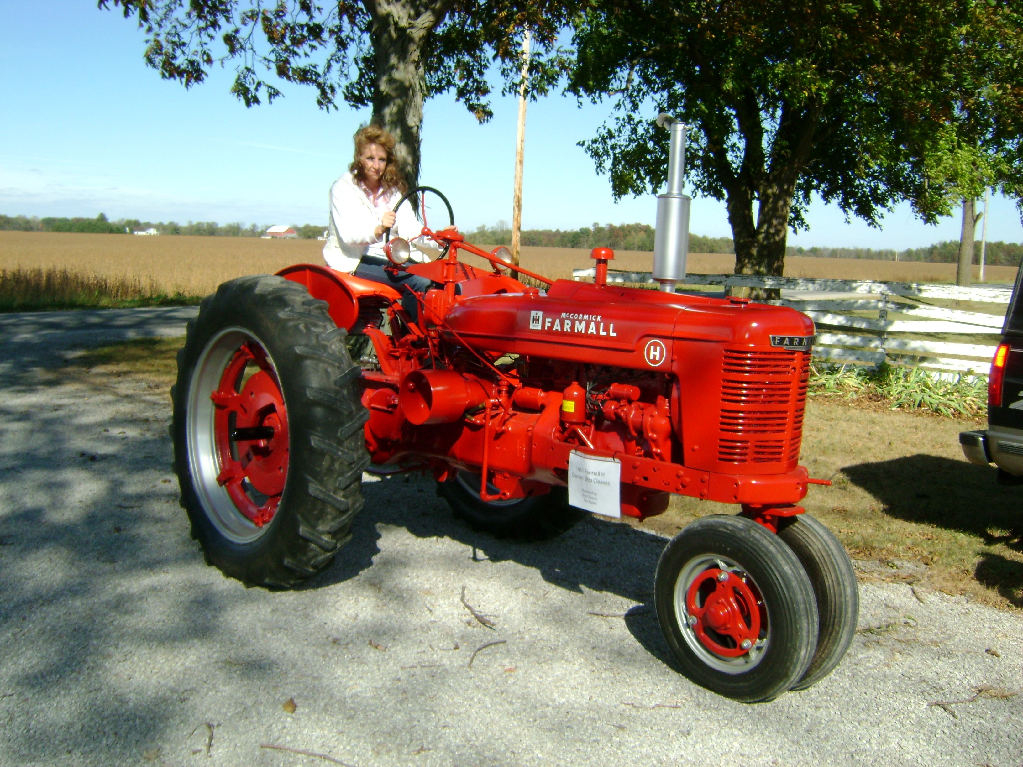 Farmall H Colored Parts   - General Ih