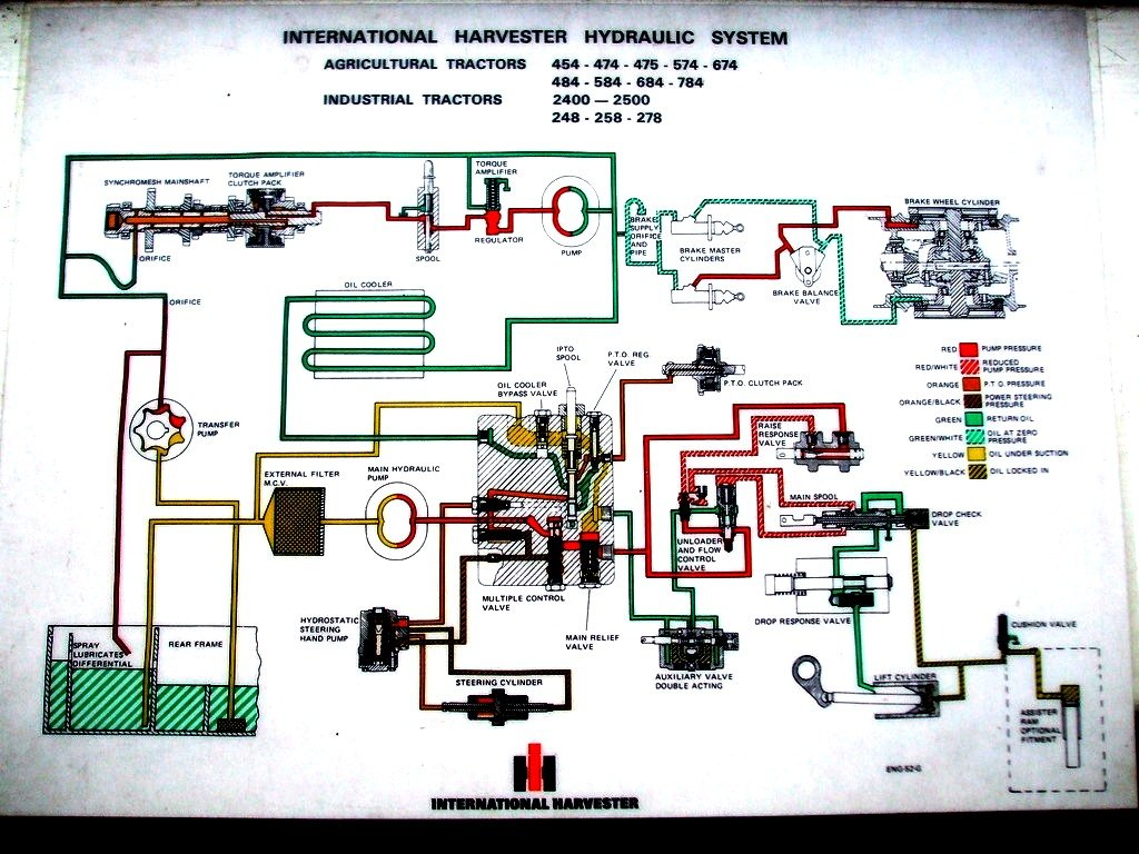 International 2400 D Backhoe loader - IH Construction ... on