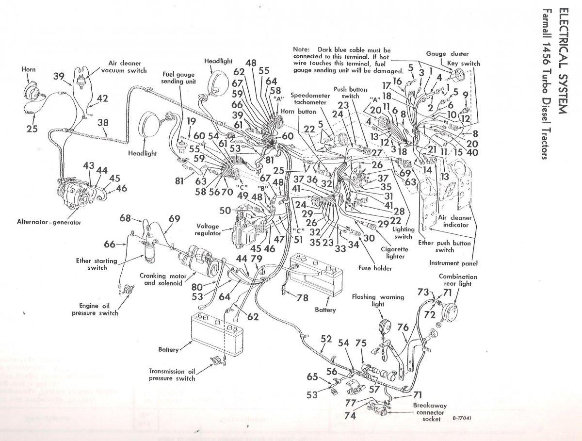 Ih 1256 Wiring Diagram