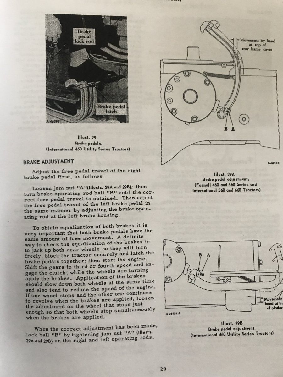 Farmall 460 brakes - General IH - Red Power Magazine Community