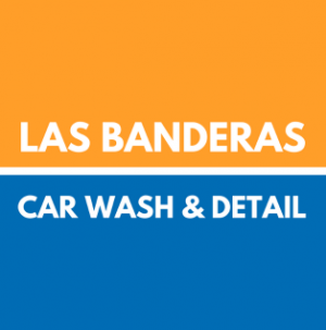 Las Banderas Car Wash & Detail Logo