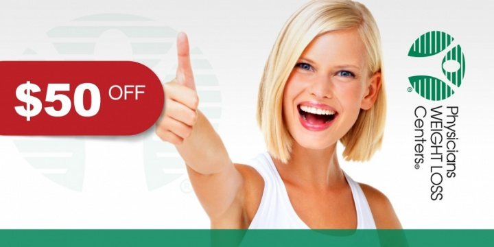$50 OFF for Enrollment in Program at Physicians Weight Loss Centers of Boca Raton offer image