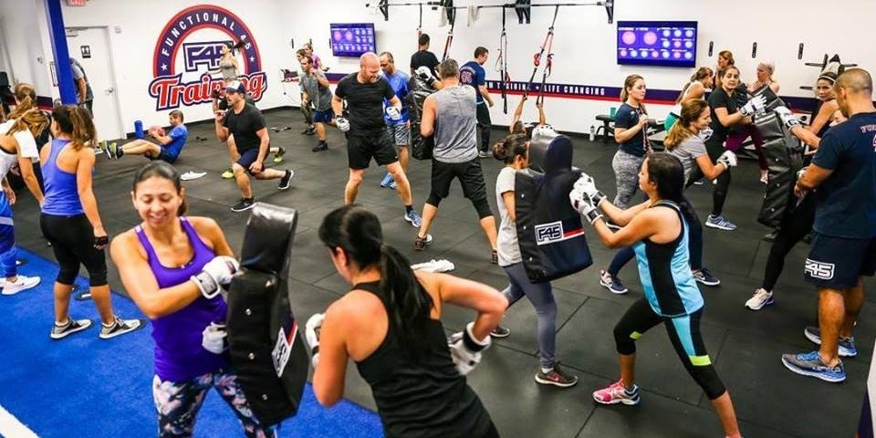 2 FREE Weeks of Group Training Classes at F45 North Weston offer image