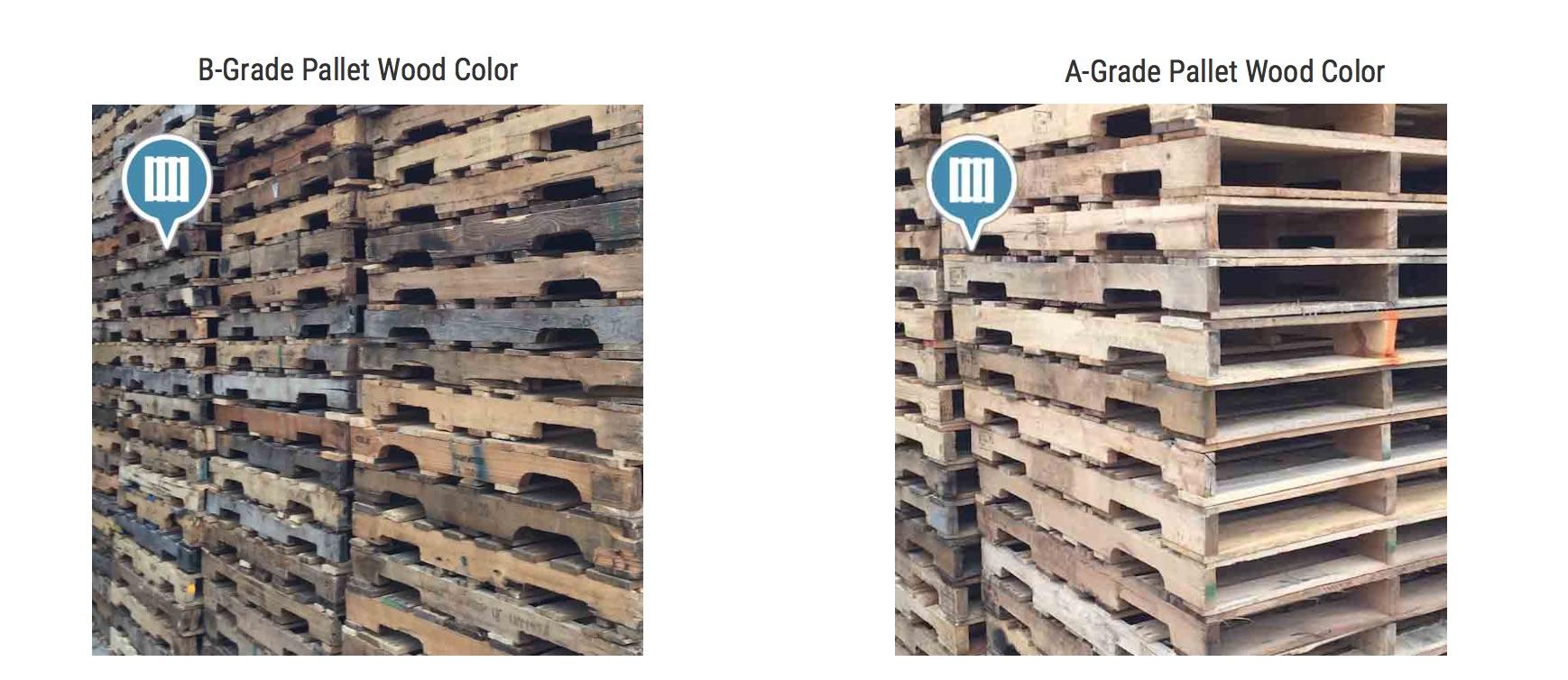 A-Grade Pallet vs B-Grade Pallet