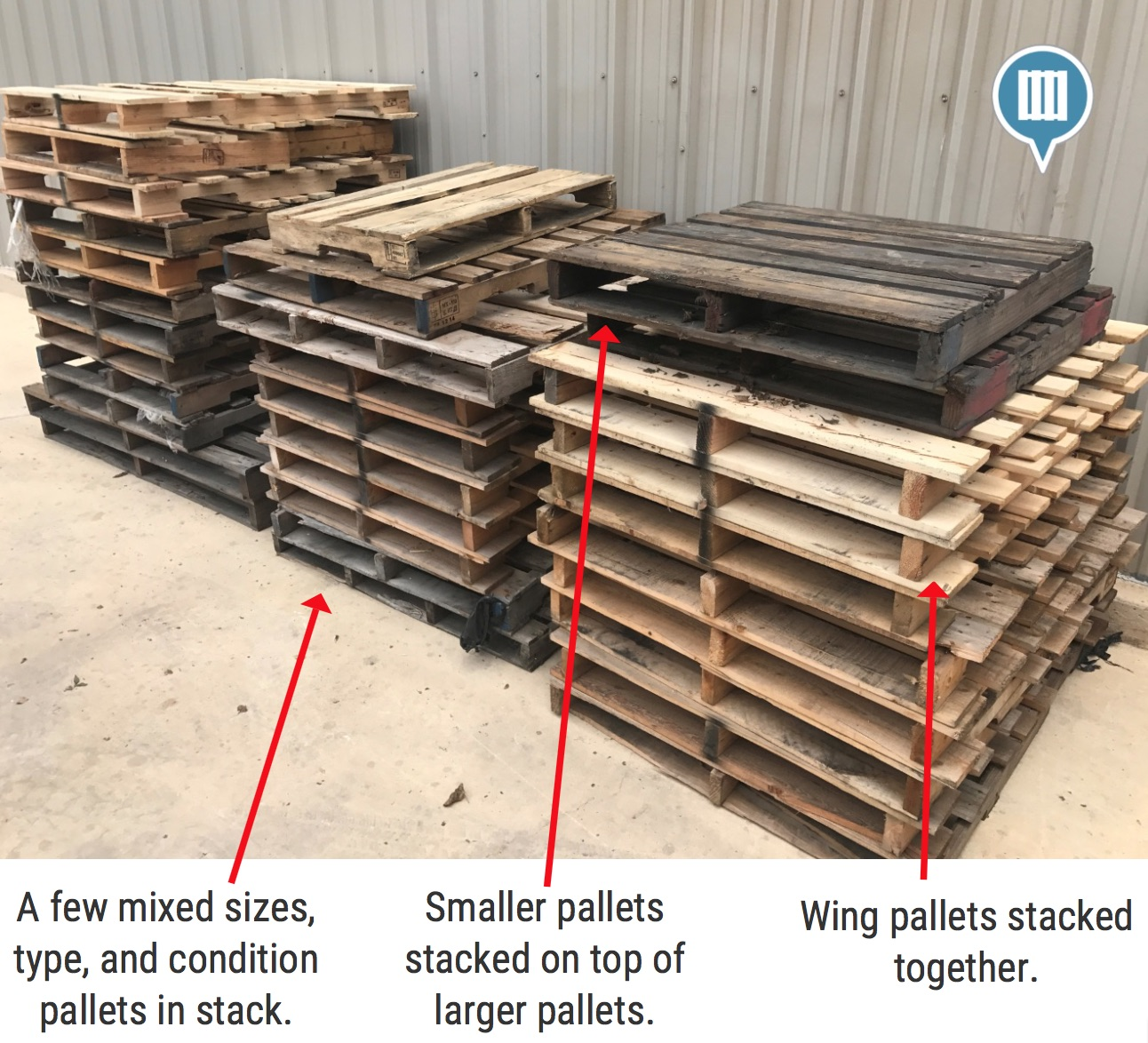 Wing Pallets For Sale