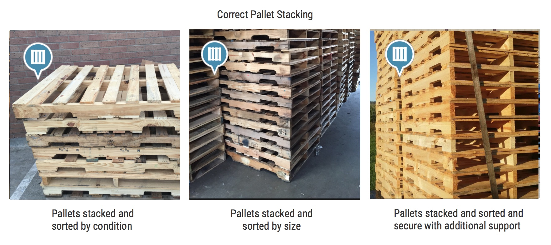 Correct Pallet Stacking
