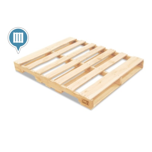 The 2 Most Common Type Of Wood Pallet Is Stringer And Block Has Boards On Sides Middle That Make A