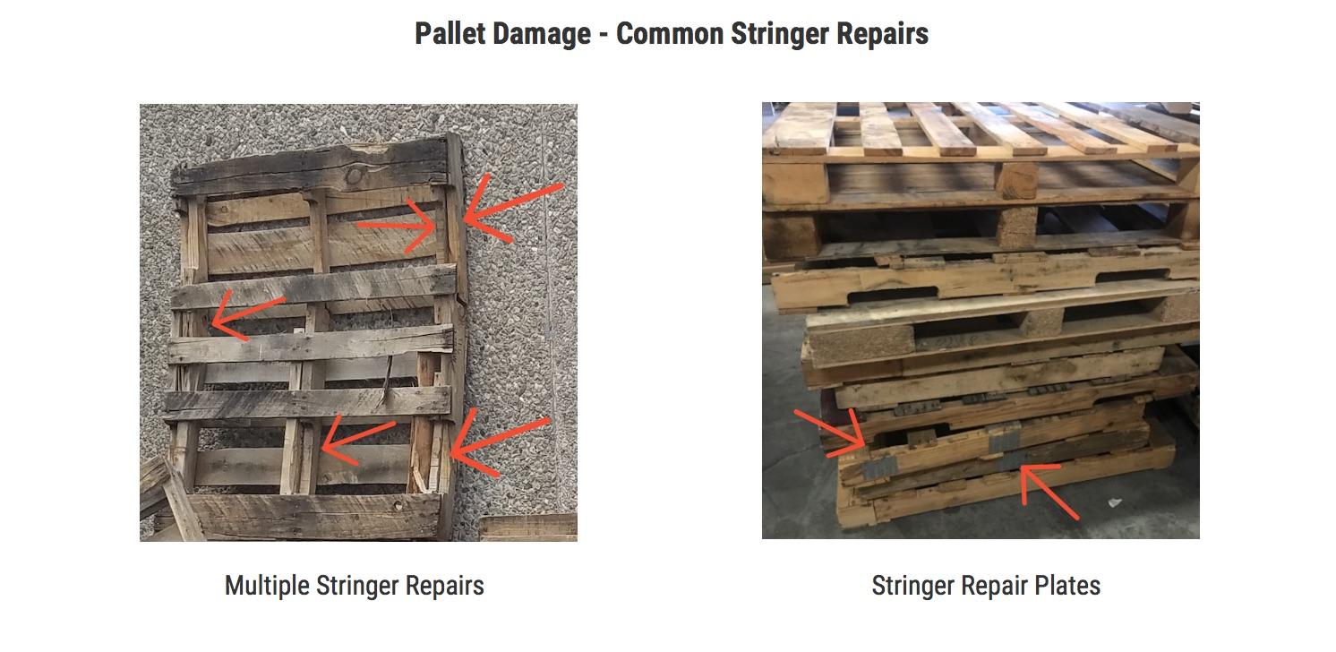 Pallet Stringer Damage