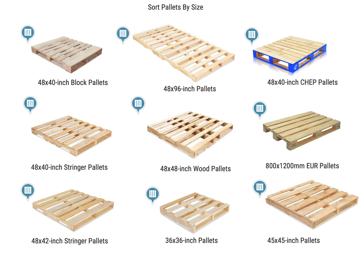 How To Sort Pallets