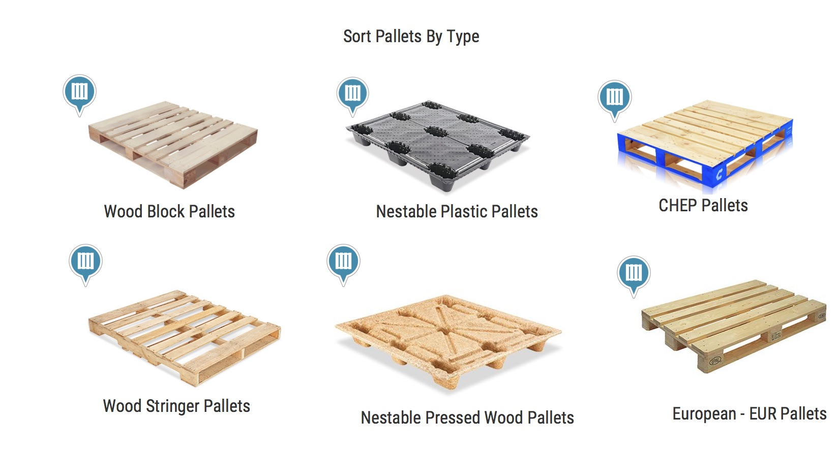 Pallets By Material Type