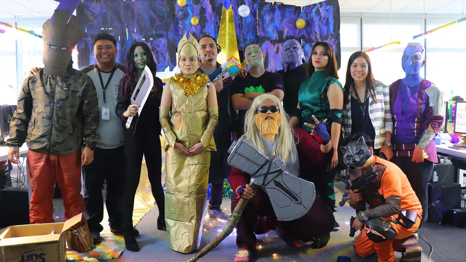 Diversify Halloween Party