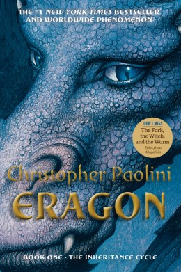 Eragon The inheritance cycle 1 by Christopher Paolini - Book Review