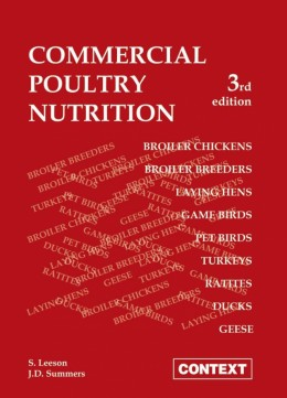 Commercial Poultry Nutrition 3rd Edition by S. Leeson and JD Summers