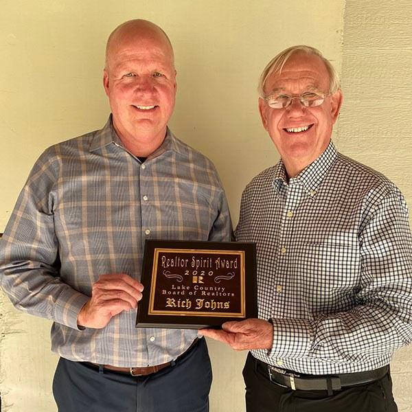 Reynolds Lake Oconee Properties, LLC Congratulates  Its 2020 Lake Country Board of Realtors Award Winners