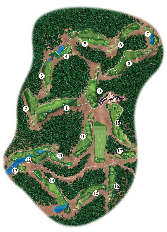 Creek Club Map Update