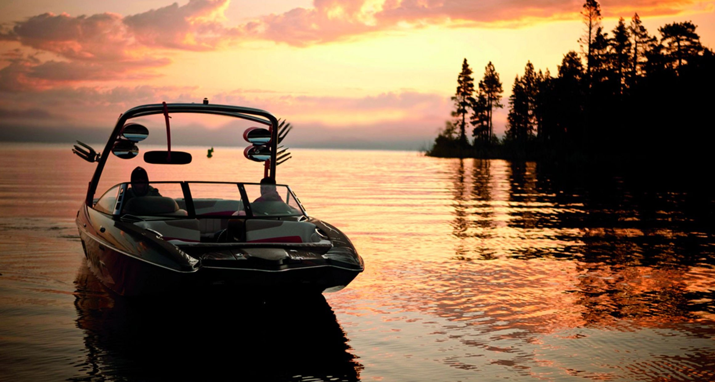 Boat Lake Sunset Featured Teaser Retina