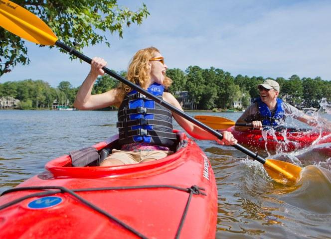 Community Highlights Kayaking
