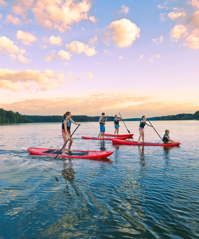 Community Highlights Paddleboarding