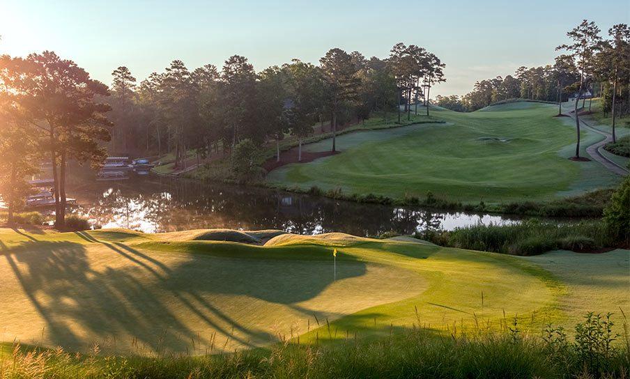 Golf Courses Landscape Retina 2