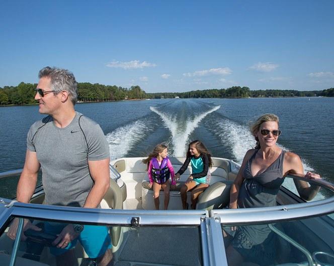 Lake Highlights Boating