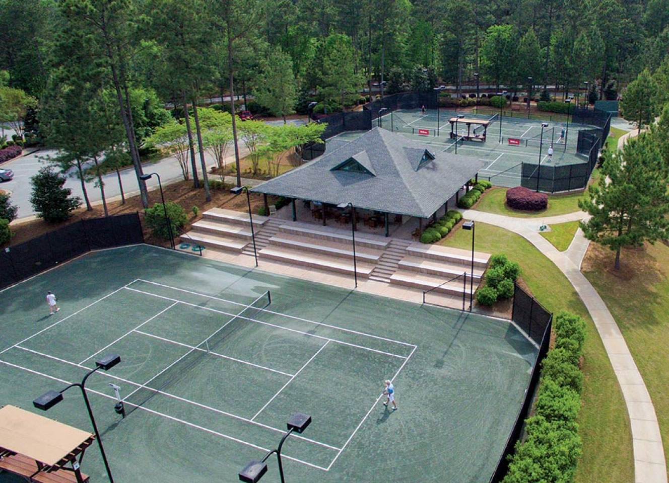 Wellness Highlights Tennis Courts