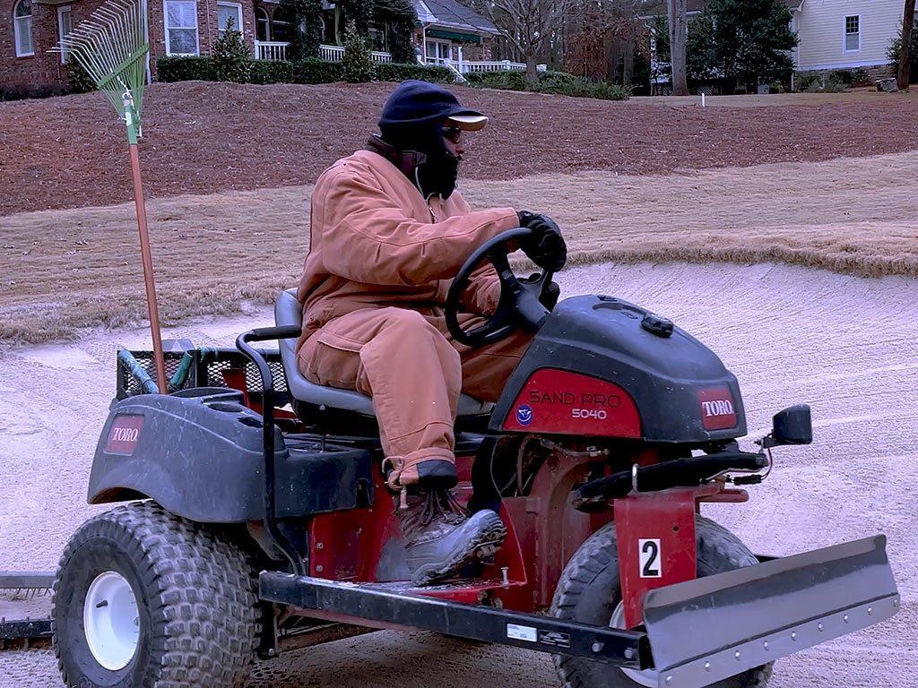 Golf Course Maintenance Equipment Operator