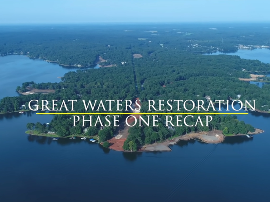 Great Waters Restoration - Phase One Recap