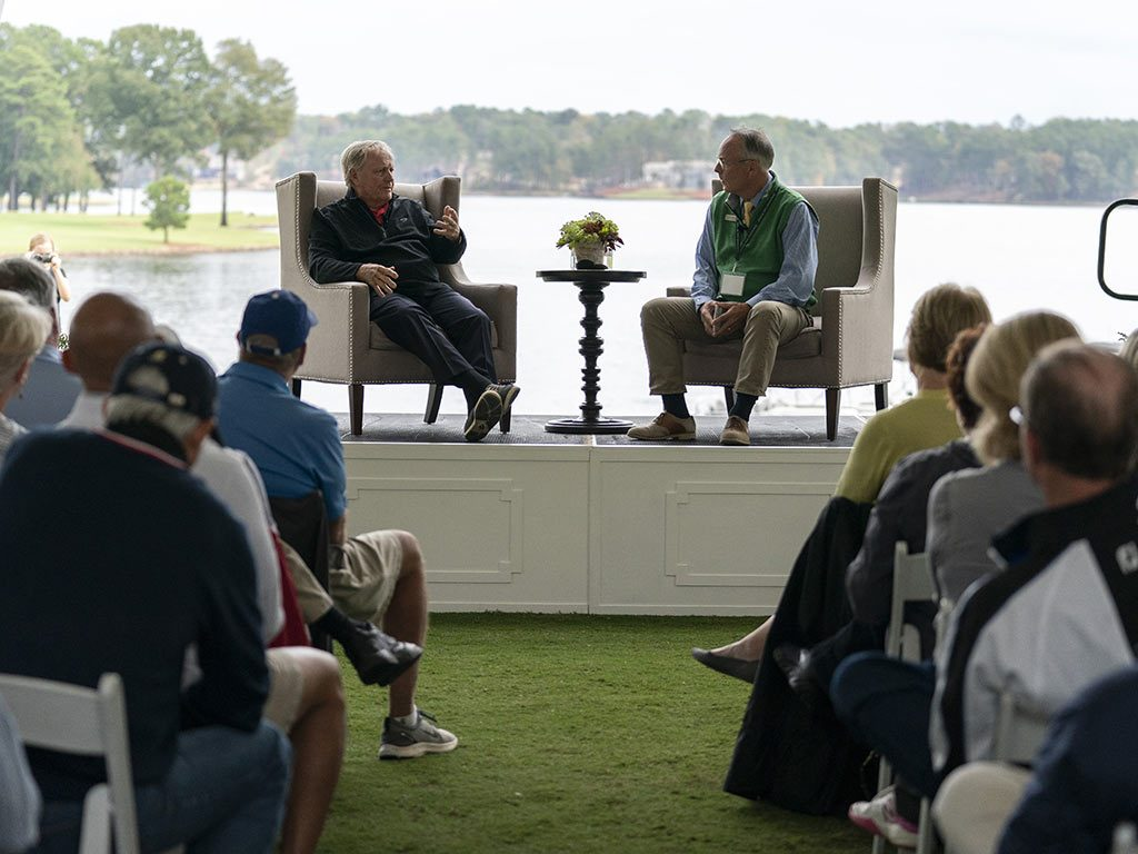 Lakeside Chat with Jack Nicklaus