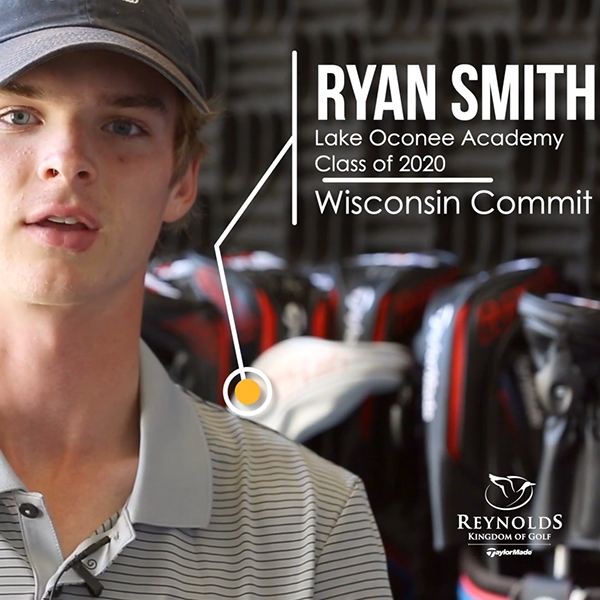 Follow Ryan Smith, recent Wisconsin Men's Golf commit, as he trains at The Kingdom.