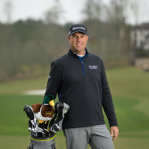 Lifelong Golfer from North Carolina Wins Outing with Major Champ Stewart Cink at Reynolds Lake Oconee