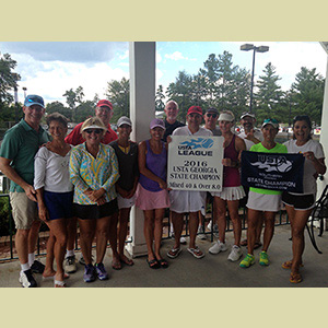 Bringing The Heat: Reynolds Tennis Receive State Titles