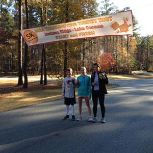 Jackson Ridge Hosts the First Annual Turkey Trot 5K