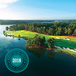 """Ideal-LIVING Magazine Honors Reynolds Lake Oconee as """"The Best of the Best in Planned Communities"""""""