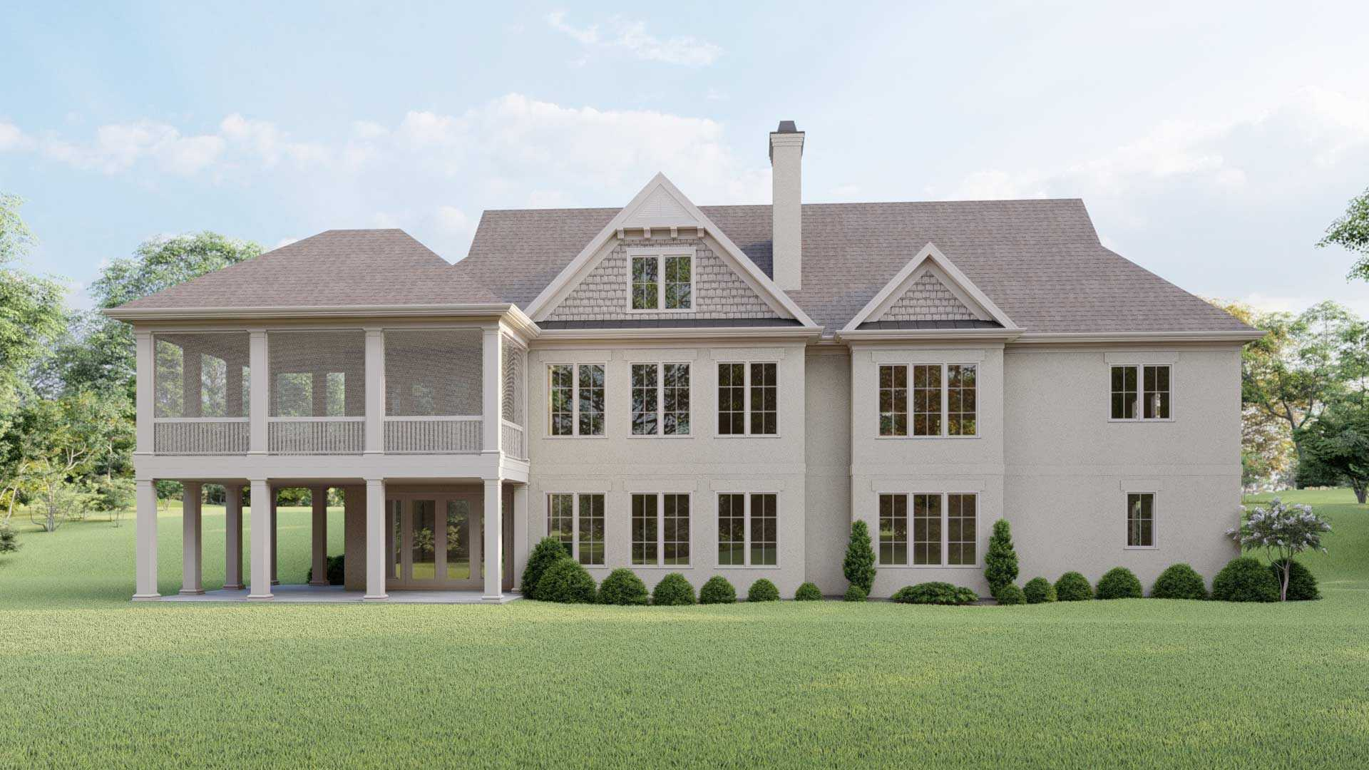 Signature Homes Plan 16 Back Resized