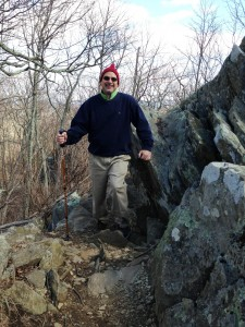 Bob Chesla Hiking Blue Ridge Parkway 1