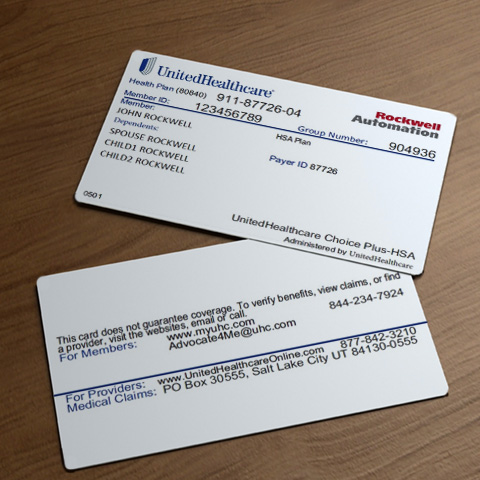 UnitedHealthcare Medical and Vision ID Cards - Rockwell ...