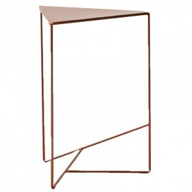 Copper Triangle Side Tables